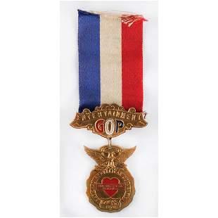 Herbert Hoover: 1928 RNC Badge