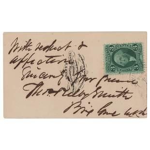 Thomas Kilby Smith Signed Photograph