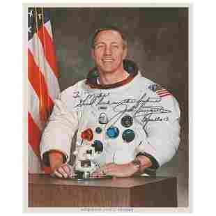 Jack Swigert Signed Photograph