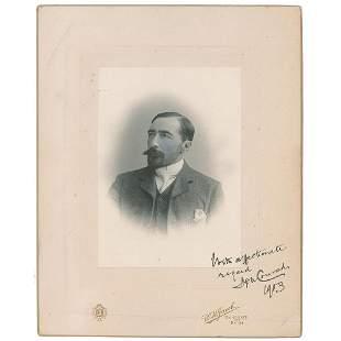 Joseph Conrad Signed Photograph