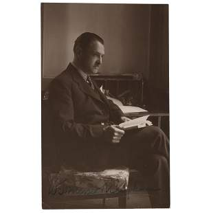 W. Somerset Maugham Signed Photograph