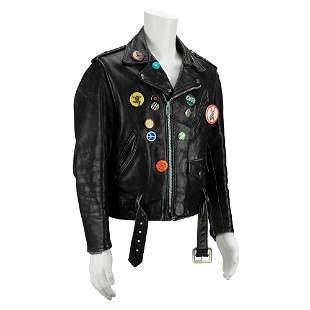 Frank Zappa's Leather Motorcycle Jacket