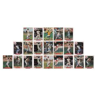 Baseball Hall of Famers (21) Signed Cards