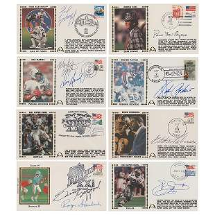 Football (8) Signed Covers