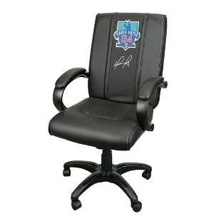 David Ortiz Signed Game-Used Clubhouse Chair