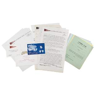 Beatles: Collection of (19) Cavern Club Items