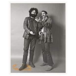 Grateful Dead: Garcia and Hart Original Photograph