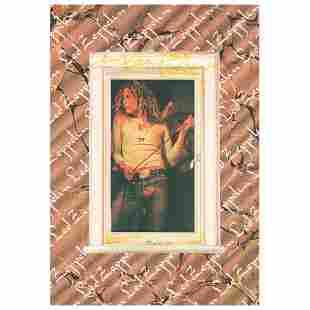 Led Zeppelin: Robert Plant Signed Poster