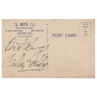 Billie Holiday Signature