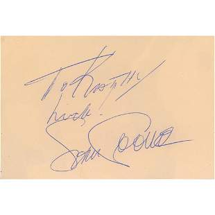 Sam Cooke and Little Richard Signatures