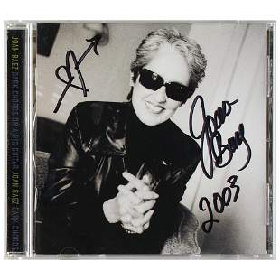 Joan Baez Signed CD