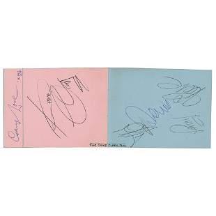 Dave Clark Five Signatures