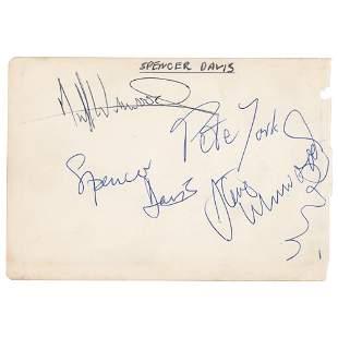Spencer Davis Group Signatures