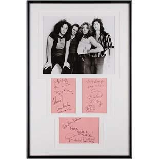 Van Halen Signatures