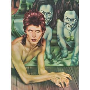 David Bowie 1974 Diamond Dogs Tour Program