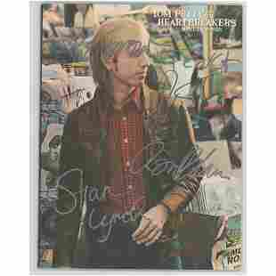 Tom Petty and the Heartbreakers Signed Music Book