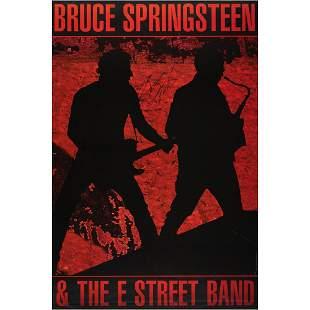 Bruce Springsteen Signed Poster
