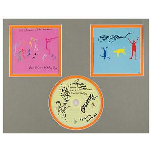 The Clash: Joe Strummer and The Mescaleros Signed CD