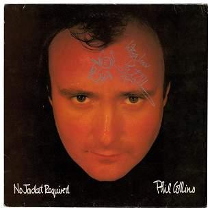 Phil Collins Signed Album