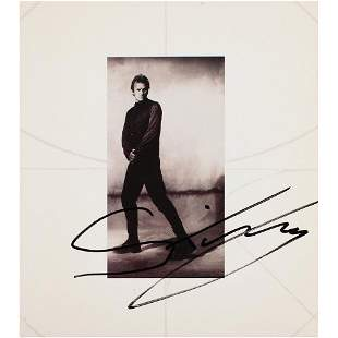 Sting Signed CD