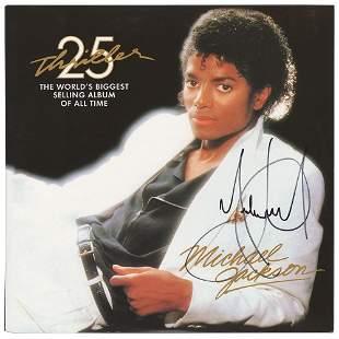 Michael Jackson Signed Album