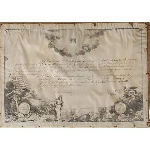 George Washington Document Signed