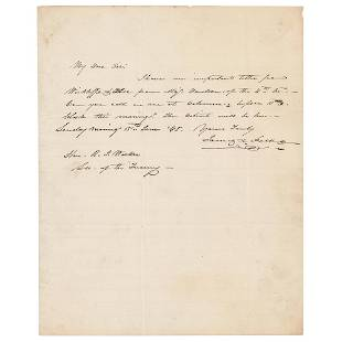 James K. Polk Autograph Letter Signed as President