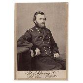U. S. Grant Signed Photograph