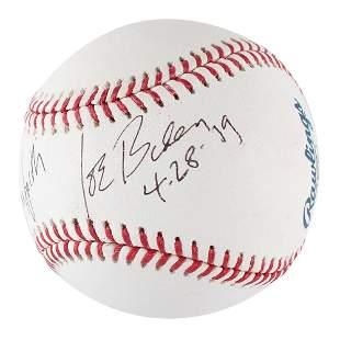 Joe Biden Signed Baseball