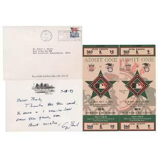 George Bush Autograph Letter Signed