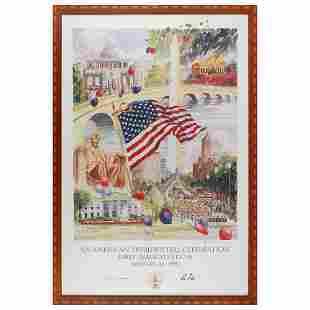 Clinton Inauguration Print