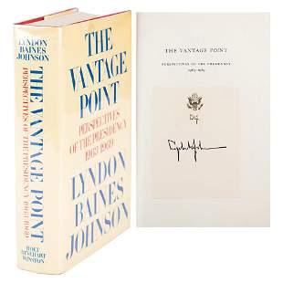 Lyndon B. Johnson Signed Book