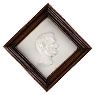 Abraham Lincoln Ceramic Plaque