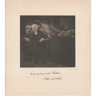 Thomas Edison Signed Photograph