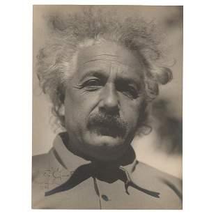 Albert Einstein Signed Photograph