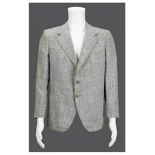 Meyer Lansky's Personally-Worn Gray Sport Coat