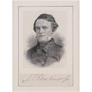 John C. Breckinridge Signature