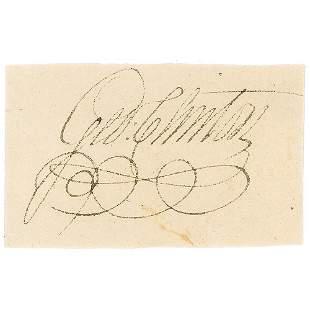 George Clinton Signature