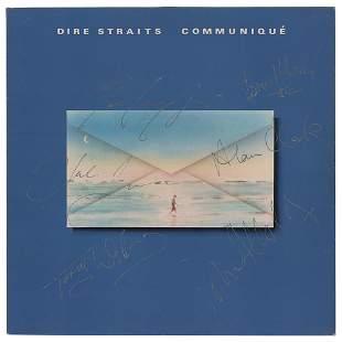Dire Straits Signed Album
