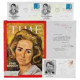 Ethel Kennedy (5) Signed Items