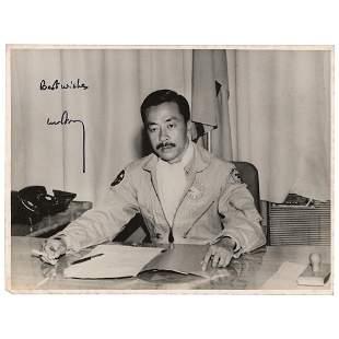Nguyen Cao Ky Signed Photograph