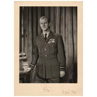 Prince Philip Signed Photograph