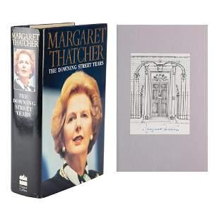 Margaret Thatcher Signed Book