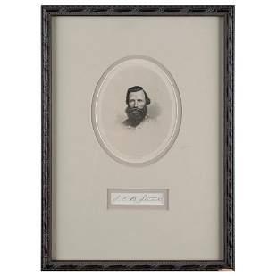 J. E. B. Stuart Signature