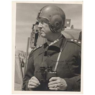 George S. Patton Signed Photograph