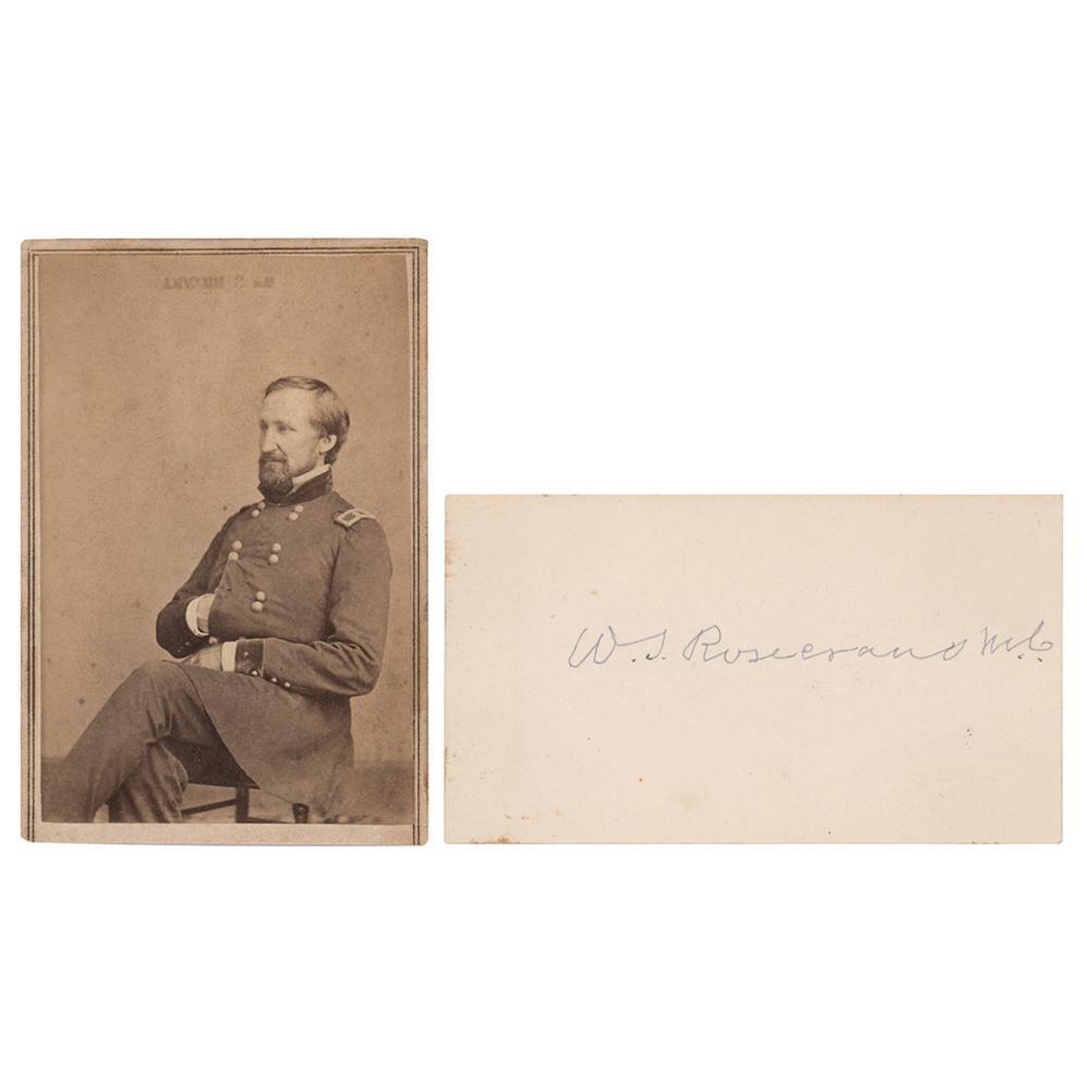 William S. Rosecrans Signature