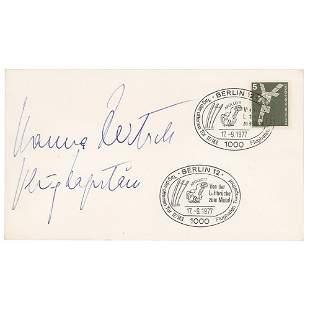 Hanna Reitsch Signed Envelope