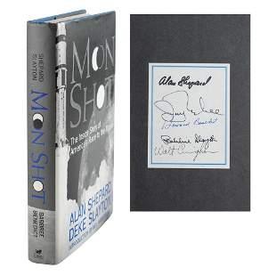 Apollo Astronauts (5) Signed Book