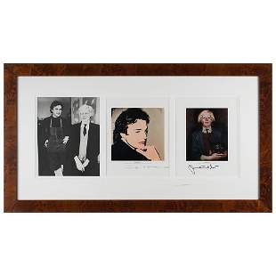 Andy Warhol and Jamie Wyeth Signed Prints
