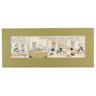 Donald and Daisy Duck Comic Strip